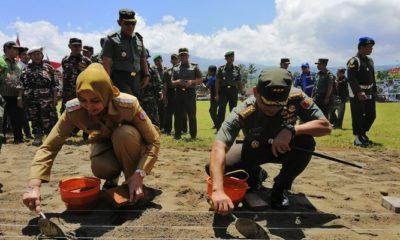 tmmd, tentara manunggal, membangun desa, jember, nusantara news