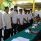 Prosesi pelantikan Perangkat Desa Pakamban Daya Kecamatan Pragaan. (FOTO: NUSANTARANEWS,CO/Syaiful Bahri )