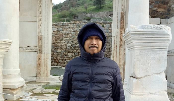 Rektor Ibnu Chladun, Musni Umar di Turki. (FOTO: NUSANTARANEWS.CO/@musniumar)