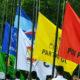 Sejumlah Berndera Partai Politik (Foto Ilustrusi)