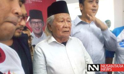 Ahli sejarah dan budayawan Betawi, Ridwan Saidi. (Foto: Romadhon/NUSANTARANEWS.CO)