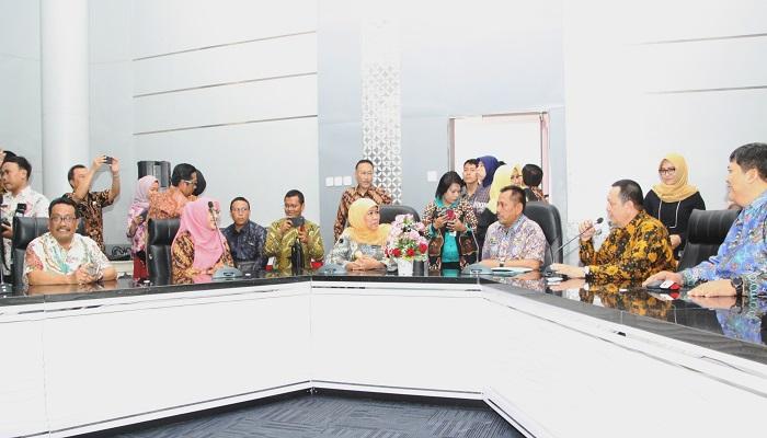 gubernur khofifah, khofifah indar parawansa, kominfo jatim, audit center, gubernur jawa timur, nusantaranews