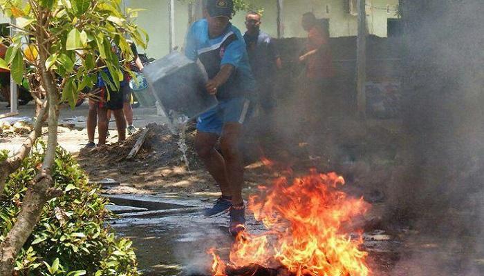 Situasi di Mako Yonarmed 12/kostrad. (FOTO: NUSANTARANEWS.CO)