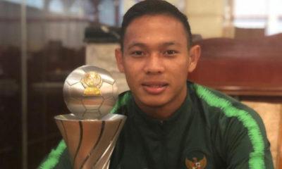 Timnas U-22 Yang Juarai Piala AFF 2019 yakni Andy Setyo Nugroho adalah seorang prajurit Kostrad (Foto Dok. Kostrad.mil.id).