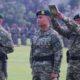 Kegiatan upacara serah terima jabatan Komandan Batalyon Infanteri Para Raider 501/BY dari Letkol Inf Eko Antoni Chandra Listianto (Pejabat Lama) kepada Letkol Inf Resa Wahyu Pudji Setiawan (Pejabat Baru) yang diikuti sekitar 600 orang, Jumat (8/2/2019). (Foto: Istimewa)