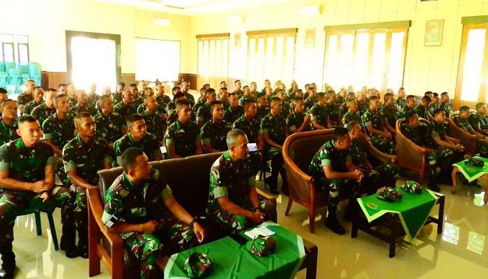 Prajurit Batalyon Armed 12 Kostrad. (Foto: Istimewa)