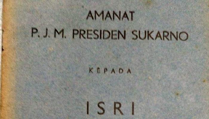 Amanat Bung Karno. (Ilustrasi/Istimewa)