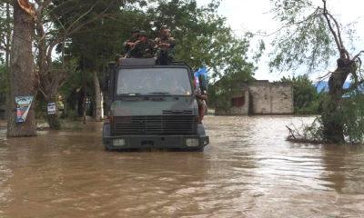 ngawi, banjir, armed 12 kostrad, truk, nusantaranews