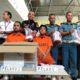 Petugas menangkap dua pengedar sabu yang berusaha menyelundupkannya melalui Bandara Juanda Surabaya, Senin (18/3/2019). (Foto: Setya N/NUSANTARANEWS.CO)