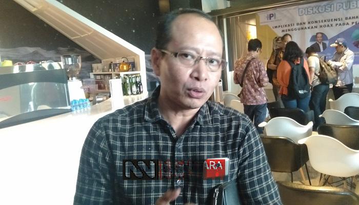 Direktur Eksekutif IPI, Karyono Wibowo. (Foto: Romandhon/NUSANTARANEWS.CO)