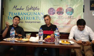 Direktur strategi Indosurvey, Karyono Wibowo (Kanan). (FOTO: NUSANTARANEWS.CO)