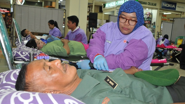 Malang Town Square Dipenuhi Darah Prajurit BEKANGAD. (FOTO: NUSANTARANEWS.CO/Prasetya)