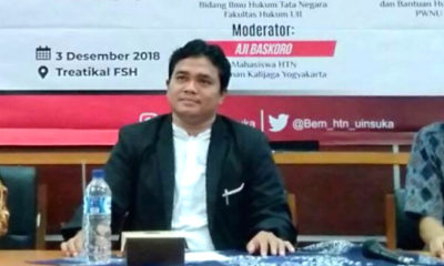 Dosen Hukum Tata Negara UIN Sunan Kalijaga Yogyakarta, Gugun El Guyanie. (Foto: Istimewa)