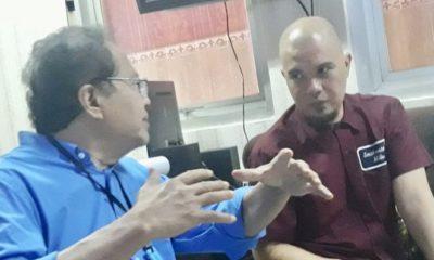 Ekonom Senior Rizal Ramli bersama Ahmad Dhani, korban rezim neo-otoriter yang gunakan UU-ITE. (FOTO: @RamliRizal)