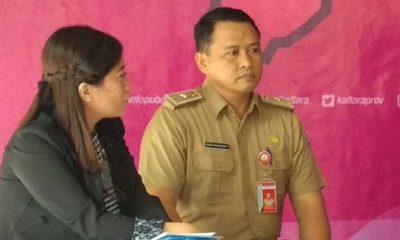 Kepala Dinas ESDM Provinsi Kaltara Ferdy Manurun Tanduklangi saat menjadi narasumber Respons Kaltara, Selasa (26/3/2019). (FOTO: Istimewa)