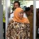 Gubernur Jawa Timur, Khofifah Indar Parawansa di Bandara Abdurahman Saleh Malang. (FOTO: NUSANTARANEWS.CO/Setya)