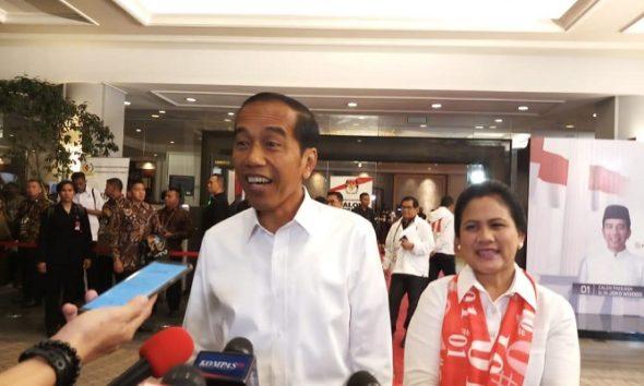 Jokowi Perbanyak Makan di Persiapan Debat Pamungkas, nusantaranewsco