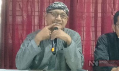 Jurnalis Senior dan Media Trainer, Edy Mulyadi (Foto: Romadhon/NUSANTARANEWS.CO)
