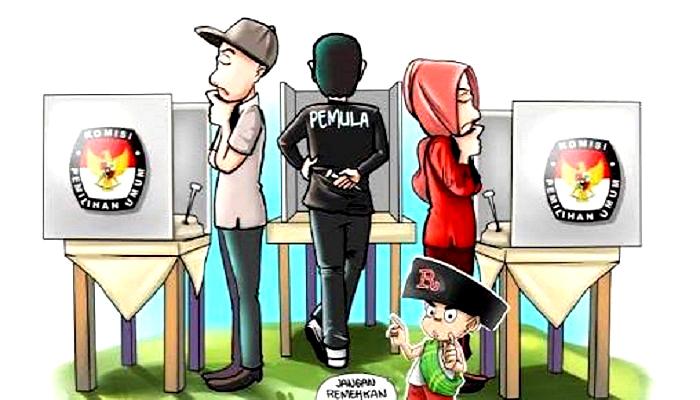 Pencoblosan pemilu. (Foto: Ilustrasi/NUSANTARANEWS.CO)