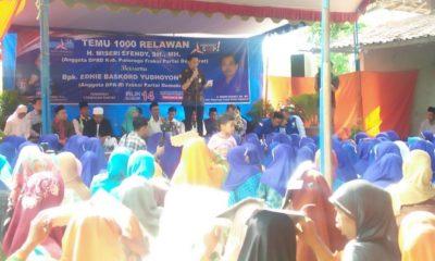 Ketua Fraksi Partai Demokrat DPR RI, Edhie Baskoro Yudhoyono. (FOTO: NUSANTARANEWS.CO/Muh Nurcholis)
