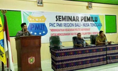 Ketua PKC PMII (Pergerakan Mahasiswa Islam Indonesia) Bali Nusra, Aziz Muslim. (FOTO: NUSANTARANEWS.CO/Istimewa)