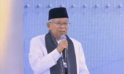 Kiai Ma'ruf Amin dalam debat Ketiga Pilpres. (FOTO: Istimewa)