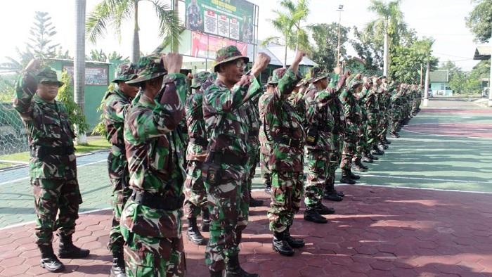 Kodim 0813 Bojonegoro menggelar Latihan Teknis Teritorial (Latnister) tahun 2019. (FOTO: NUSANTARANEWS.CO/Istimewa)