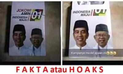 Kondom Bergambar Jokowi-Ma'ruf Amin. (FOTO: Ilustrasi)