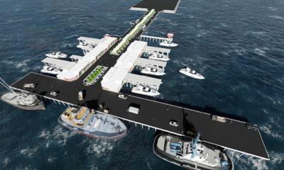 Konsep Modern Pelabuhan Tengkayu Kaltara. (FOTO: Istimewa)