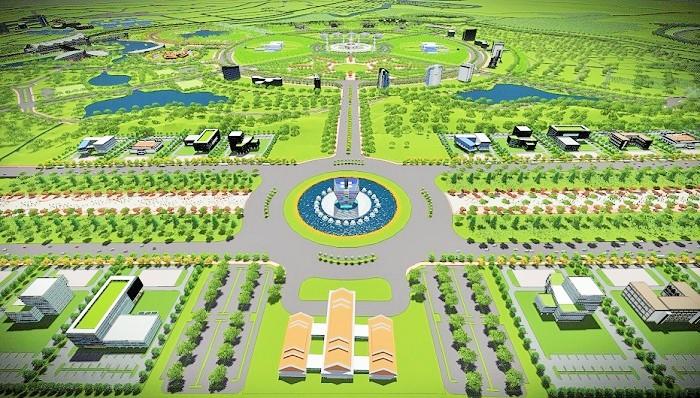 Rencana lokasi KBM Tanjung Selor yang pengembangannya paling lambat didanai oleh APBN tahun 2020. (FOTO: NUSANTARANEWS.CO/Istimewa)