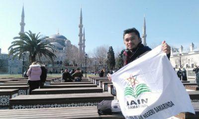 iain samarinda, mahasiswa, didi admanur, oeserta termuda, istanbul fellowship turkey, nusantaranews