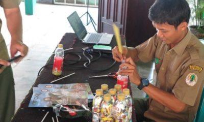 Pasangan Suami Istri Cetuskan Ecobricks, Seni Pemanfaatan Sampah Plastik. (FOTO: bbksda jatim)