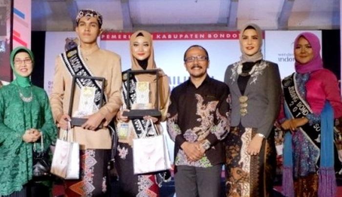Pemilihan Duta Wisata Kacong-Jebing Bondowoso 2019. (FOTO: NUSANTARANEWS.CO/HAN)