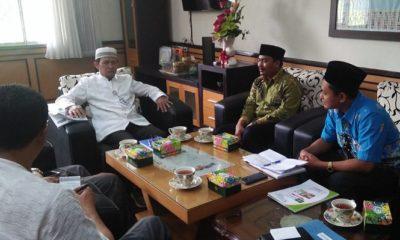 Perwakilan pengurus LP Ma'arif PWNU Jawa Tengah melakukan silaturahmi ke Universitas Islam Sultan Agung (Unissula) yang disambut langsung Rektor Ir Prabowo Setiyawan. (FOTO: NUSANTARANEWS.CO/Ibda)