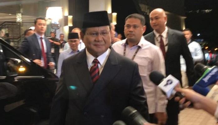 Prabowo Subianto Di Debat Terakhir (Foto Dok. NUSANTARANEWS.CO)