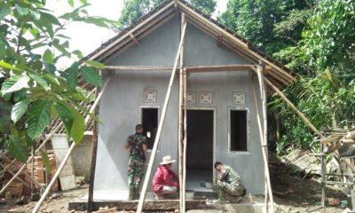 Rumah Jalal Mulai Berdiri Kokoh. (FOTO: NUSANTARANEWS.CO/Singgih)