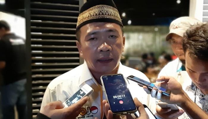 Sekjen Gojo Elang Hidayat Menilai Jokowi Ungguli Prabowo di Debat Pamungkas (Foto Romadhon/NUSANTARANEWS.CO)