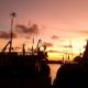 Senja Mengambang di Pantai Sadeng. (FOTO: Dok. Bacaekon.com)