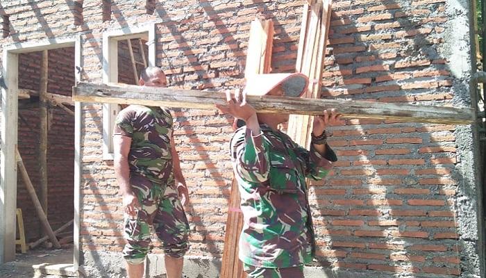 TMMD ke–104 Dongkrak Infrastuktur Daerah Terisolir di Jawa Timur. (FOTO: NUSANTARANEWS.CO/Istimewa)