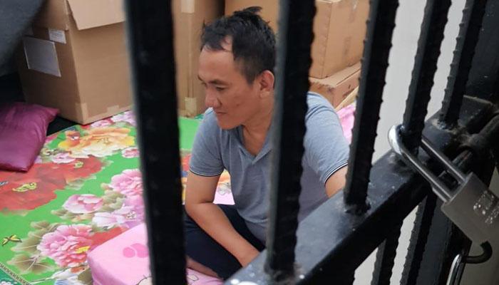 Tersangka Politikus Partai Demokrat Andi Arief Diamankan di BNN (Foto Istimewa)