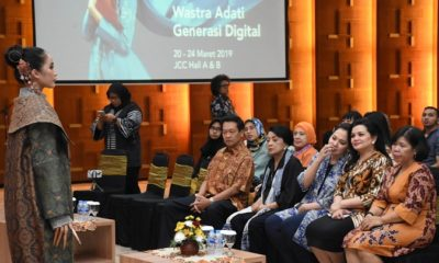 konferensi pers pameran Pameran Adiwastra Nusantara 2019, Jakarta, Rabu (13/3). (FOTO: Istimewa)