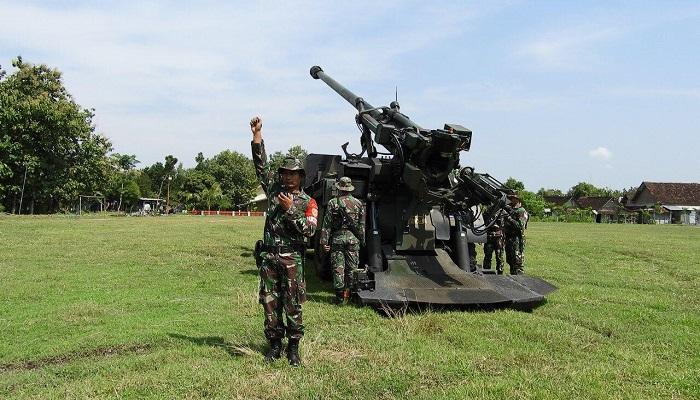Armed 12 Kostrad Latih Kordinasi Kesisteman dalam Latihan Tingkat Seksi, Kamis (25/4). (Foto: Istimewa)