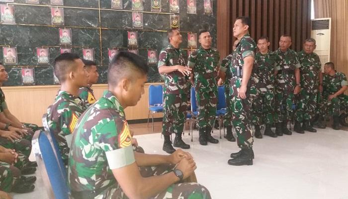 taruna Tk IV yon wreda, ojt, infanteri 2 kostrad, nusantara news