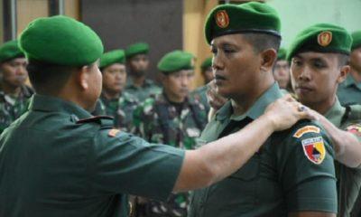 prajurit tni, tni madiun, madiun, naik pangkat, 1 april 2019, nusantaranews, nusantara news