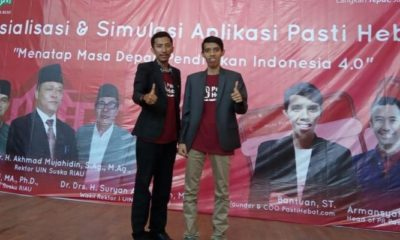 Alumni UIN Suska Riau Rancang Aplikasi pastihebat.com untuk Guru Private