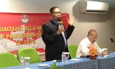 Analis Madya Dit. Bela Negara Kementerian Pertahanan, Kolonel Arh Luhkito Hadi Iswanto. (FOTO: NUSANTARANEWS.CO/Adhon)