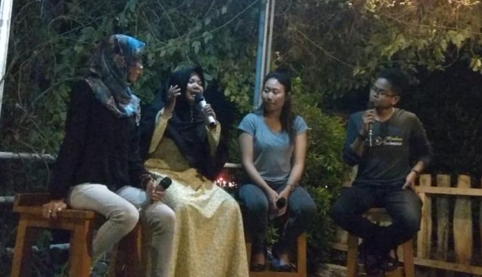 Bumiayu Creative City Forum (BCCF) mengadakan agenda diskusi bulanan bertajuk Kacamata Senja. (FOTO: Istimewa)