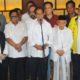 Capres Joko Widodo didampingi Cawapres Ma'ruf Amin bertemu ketum Parpol Koalisi. (FOTO: Istimewa)