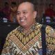 Anggota DPRD Sumenep Akh Zainurrahman kecewa lantaran DBS III yang baru di-lauching malah mengalami kerusakan, Kamis (11/4/2019). (Foto: Danial Kafi/NUSANTARANEWS.CO)