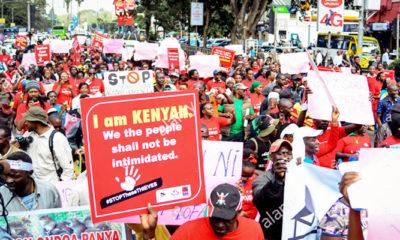 Demonstrasi di Kenya